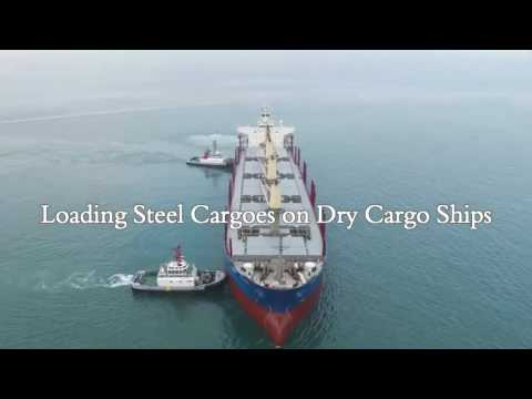 Loading Steel Cargoes on Dry Cargo Ships