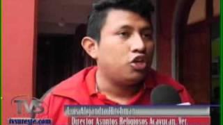 TVS Noticias.- Iglesias de Acayucan, Veracruz se unen en oración para pedir Paz en el País