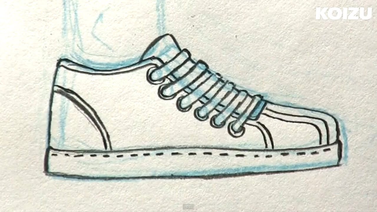How to Draw Manga Shoes! - YouTube