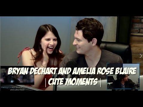 Bryan Dechart & Amelia Rose Blaire   Cute Moments