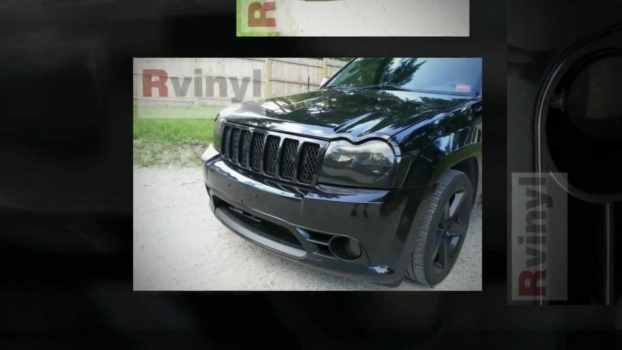 Rtint 2005 2007 Jeep Grand Cherokee Pre Cut Headlight