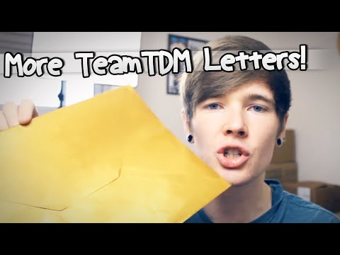 MORE TEAMTDM LETTERS | TheDiamondMinecart