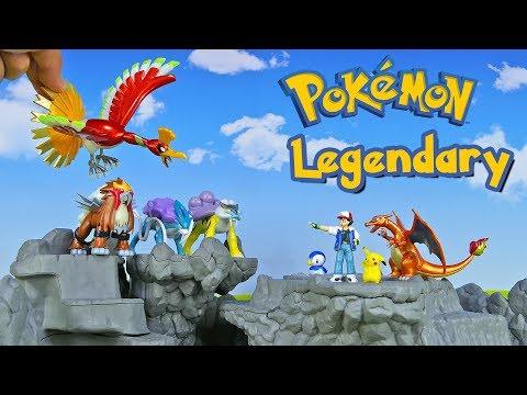 Download Youtube: Legendary Pokemon Ho-Oh Entei Suicune Raikou