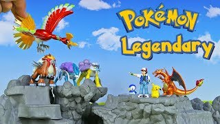 Legendary Pokemon Ho-Oh Entei Suicune Raikou