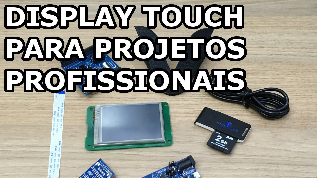 DISPLAY TOUCH PROFISSIONAL PARA O SEU PROJETO! VICTOR VISION