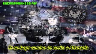 The Ramones- It's A Long Way Back To Germany- (Subitulado en Español)