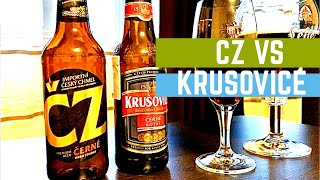 Пиво «CZ» от Татспиртпрома и «Krusovice» от Heineken. Битва ТЕМНЫХ!