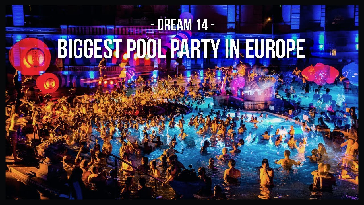 THE ONE AND ONLY BATH PARTY | SPArty BUDAPEST | DREAM 14 - YouTube