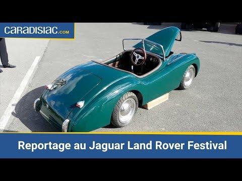 Reportage - Jaguar Land Rover Festival : voyage dans les temps