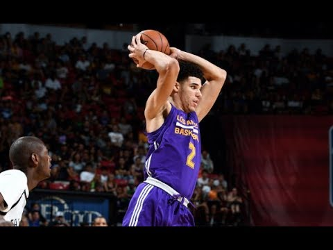 Best of Lonzo Ball vs the Brooklyn Nets (VIDEO) NBA Summer League