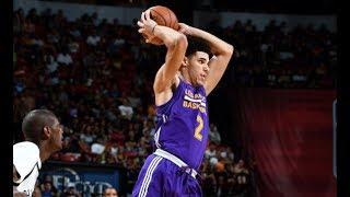 Full Highlights: Best of Lonzo Ball vs the Brooklyn Nets, MGM Resorts NBA Summer League | July 15 thumbnail