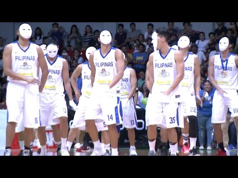 The Luzon All Star Dance Showdown: Gilas Pilipinas | PBA All-Star 2017