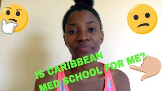 IS CARIBBEAN MED SCHOOL FOR ME??
