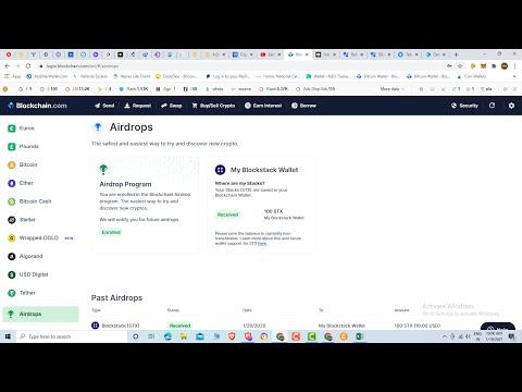 Blockchain wallet $50 #Airdrop Instant Withdrawal Sell Okcoin Exchange #freeairdrop #blockchain,