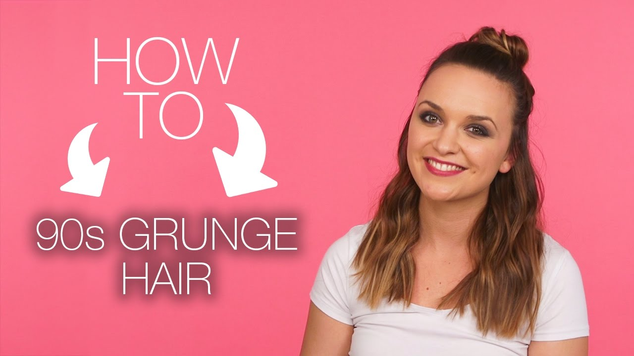 How To 90s Grunge Hair Superdrug Youtube