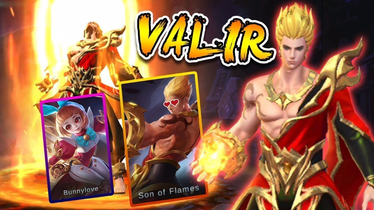 VALIR MOBILE LEGENDS NEW HERO GAMEPLAY BUILD VALIR EPIC