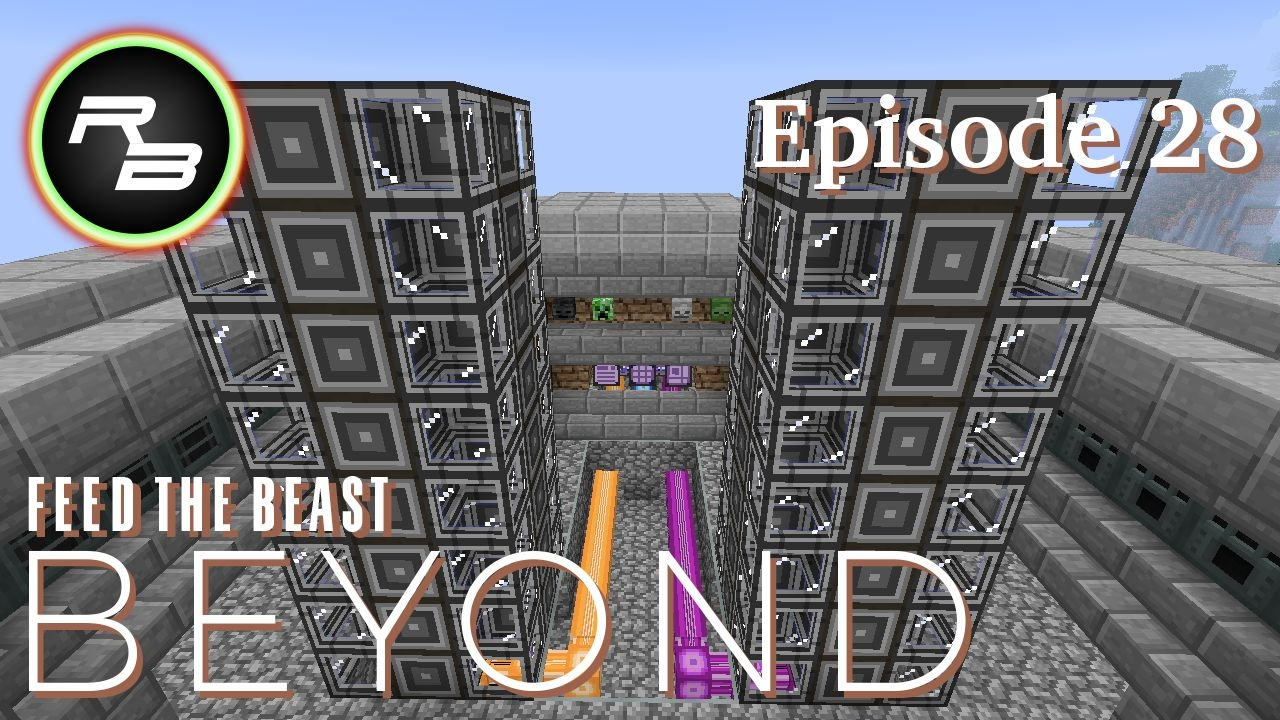 Modded Minecraft Ftb Beyond Ep 28 Autocrafting Made More