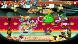 Angry Birds Epic walktrough, King Pig Castle Boss Battle, Games for kids in english