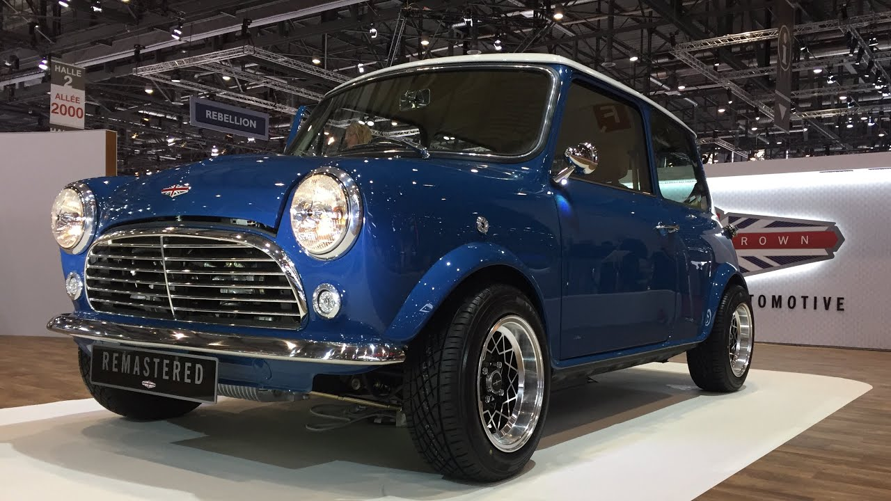 The 120000 Mini Remastered By David Brown Walkaround At Geneva