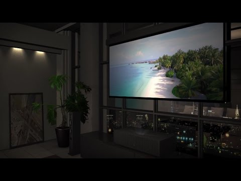 Sony 4K HDR Home Theater Projector VPL (VZ1000ES) - YouTube
