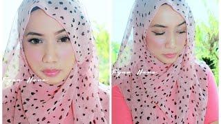 Get Ready With Me : soft pink makeup & hijab Thumbnail