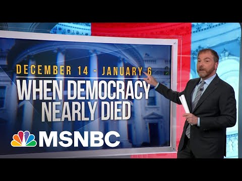 Chuck Todd Breaks Down The Timeline Leading Up To Capitol Riot