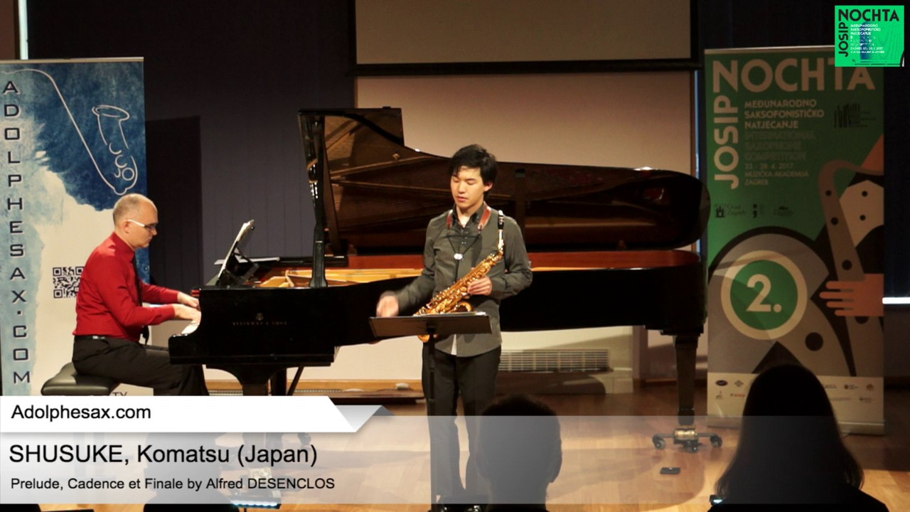 Prelude, Cadence et Finale by Alfred Desenclos – SHUSUKE, Komatsu (Japan)