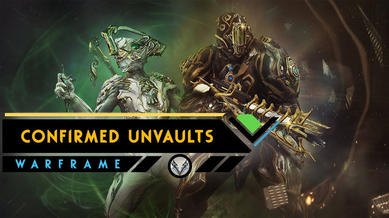 Warframe: CONFIRMED New Prime Frames & Weapons To Be Unvaulted