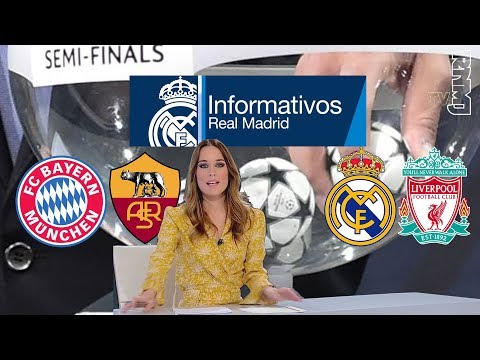 Real Madrid TV Noticias (12/04/2018) previa SORTEO Semis UEFA CHAMPIONS LEAGUE