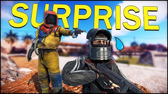 The SURPRISE ATTACK for ALL HIS GEAR! - Rust Solo #3