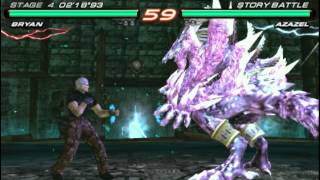tekken 6 azazel fight
