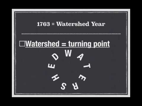 APUSH Review: PEEP Why 1763 Was So Important