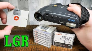 Canon RC-250 Xap Shot: 1988 Video Floppy Disk Camera