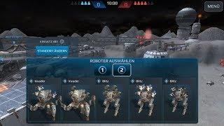 War Robots Testserver 4.3 testing the Best 2 Suppression-Robots  INVADER & BLITZ