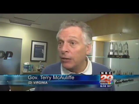 Governor McAuliffe Weighs in on 2016 Presidential Race
