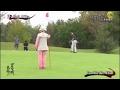 ゴルフ対決 プロゴルファー青山薫 VS HC1の強者トップアマ