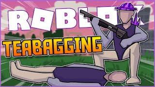 teabagging everyone i kill in roblox strucid... (toxic)