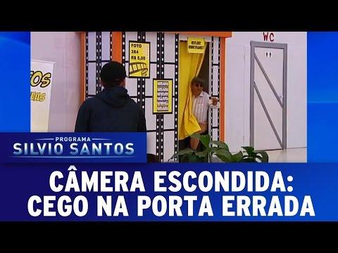 Câmeras Escondidas (27/03/16) - Cego Na Porta Errada