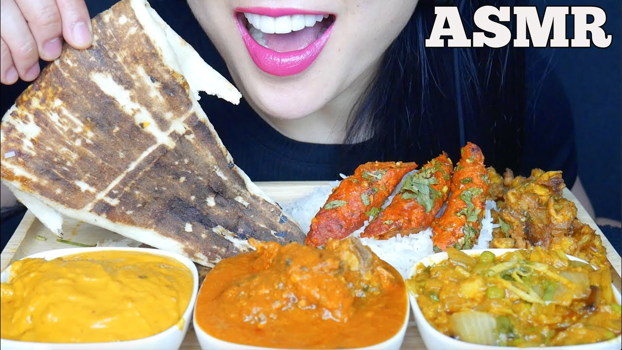 Asmr Chicken Curry Malai Kofta Egg Plant Bhartha Seekh Kebab Eating Sound No Talking Sas Asmr Youtube Butter chicken, naan, biryani, curry, samosa & palak paneer • mukbang eating show. asmr chicken curry malai kofta egg plant bhartha seekh kebab eating sound no talking sas asmr