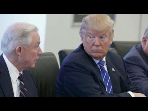 What is point of Trump attacking Sessions?