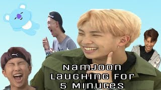Namjoon Laughing for 5 Minutes