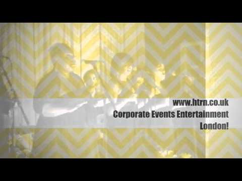Corporate Event Entertainers London. Professional Music Services
