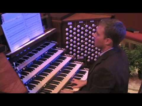 "Christpoher Pardini - Toccata on ""Amazing Grace""; Garrett F. Martin, organ"
