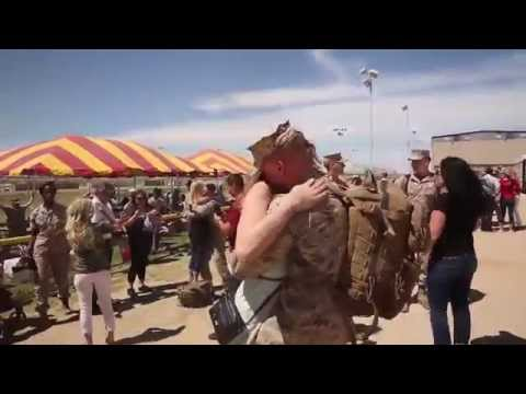 2/7 Marines Return Home