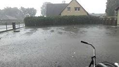 Unwetter und Sirenenalarm in Twistringen 07.07.2017 - Gewitterfront sorgt für Feuerwehreinsätze