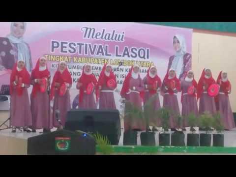 Qasidah klu NTB juara 1 lasqi tingkt kabupaten lombok utara