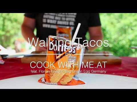 Walking Tacos - Pure awesomeness out of a bag of Doritos