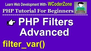 PHP Filters Advanced - filter_var() Mp3
