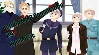 Hetalia MMD compilation part 7 !!!!