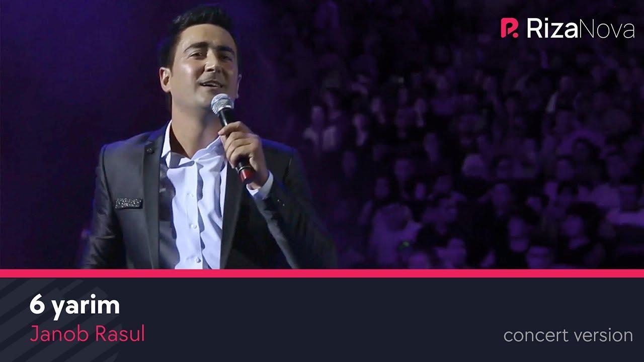 Janob Rasul - 6 yarim | Жаноб Расул - 6 ярим (concert version 2017) #UydaQoling